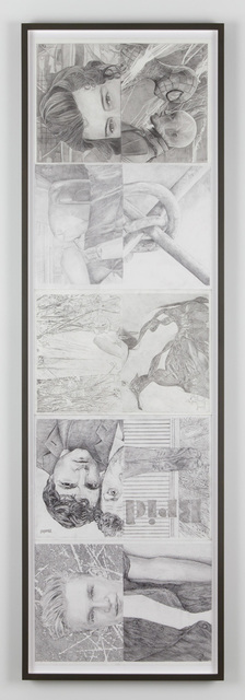 Jonathan Monk, 'Untitled (July/August), Untitled (September/October), Untitled (November/December), Untitled (January/February), Untitled (March/April), Untitled (May/June)', 2014, Casey Kaplan