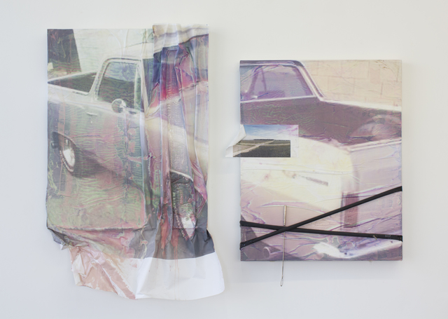 , 'local pick up only, 1973 El Camino 1 & 2,' 2018, Ochi Projects