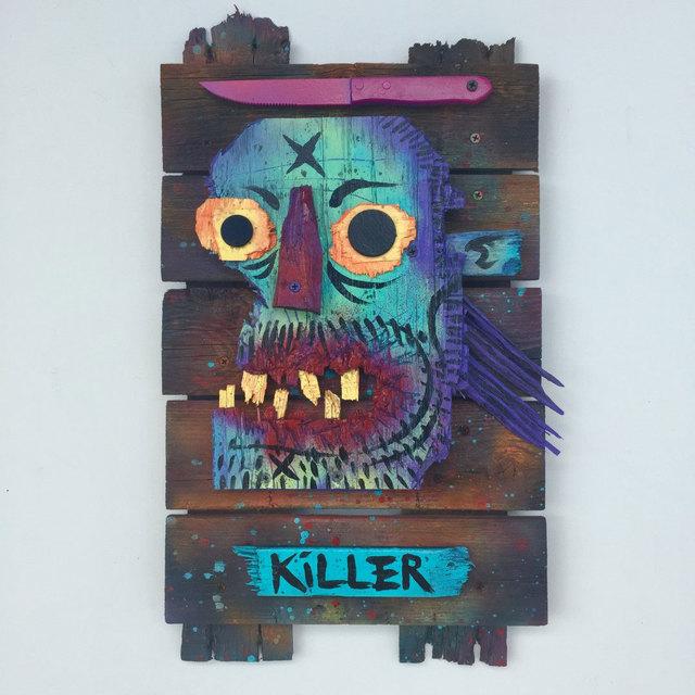 , 'Killer Mullet,' 2017, Jonathan LeVine Projects