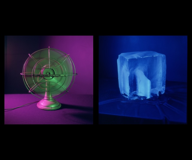 , 'Fan and Ice,' 1983, Gallery Luisotti