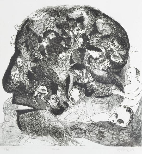 , 'Head,' , Swaraj Art Archive