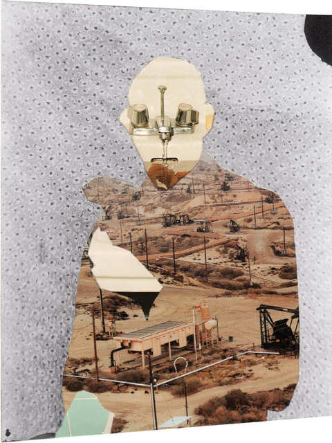 , 'Photomontage XI, (taken from pages 16,39,87),' 2009-2011, ROSEGALLERY