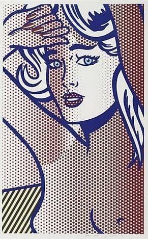 Roy Lichtenstein, 'Nude with Blue Hair, State I', 1994, David Benrimon Fine Art