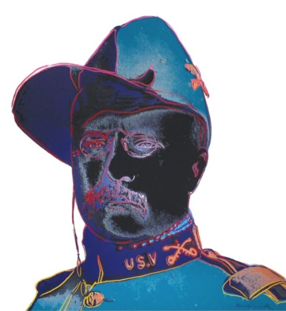 Andy Warhol, 'Teddy Roosevelt, from Cowboys and Indians, F.S. II 386', 1986, Lush Art Agency
