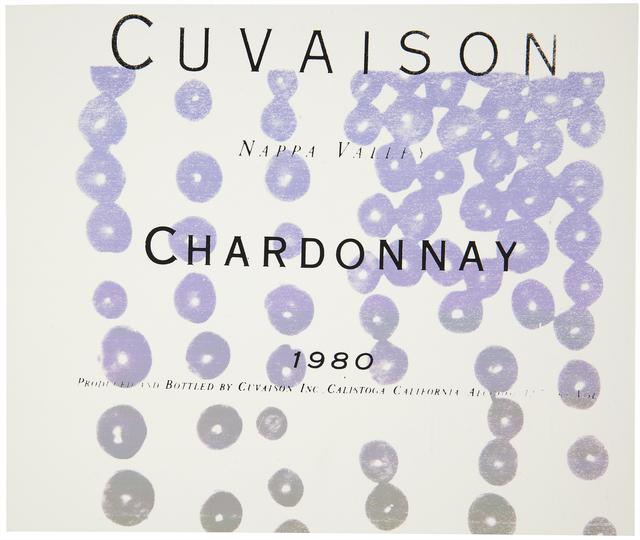 Andy Warhol, 'Cuvaison Chardonnay (See F. & S. IIIB.6)', 1980, Print, Screenprint in colors on paper, Christie's Warhol Sale