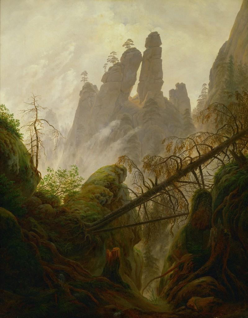"The Mysteries behind Caspar David Friedrich's ""Wanderer above the ..."
