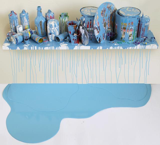 , 'Escenario Azul-Claro,' 2014, Galeria El Museo
