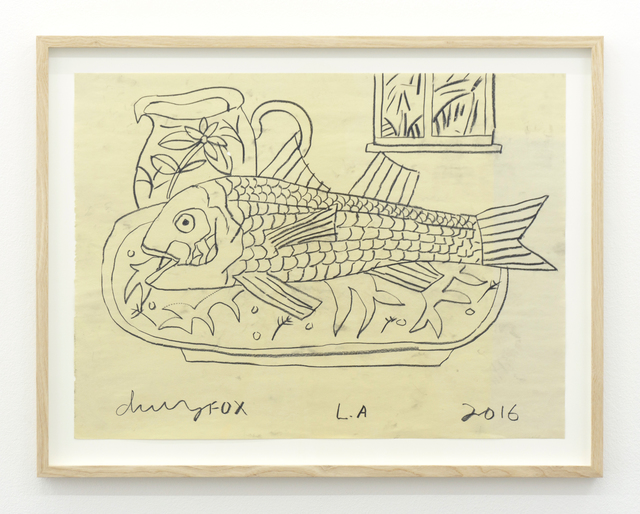 , 'Fish On A Plate With Jug,' 2016, V1 Gallery