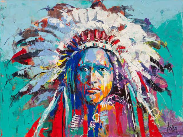 , '01 Native American,' 2019, ArtCatto