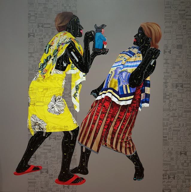 Eddy Kamuanga Ilunga, 'Untitled', 2020, October Gallery