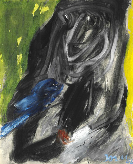 , 'The blue bird,' 1966, HUNDERTMARKartFAIR