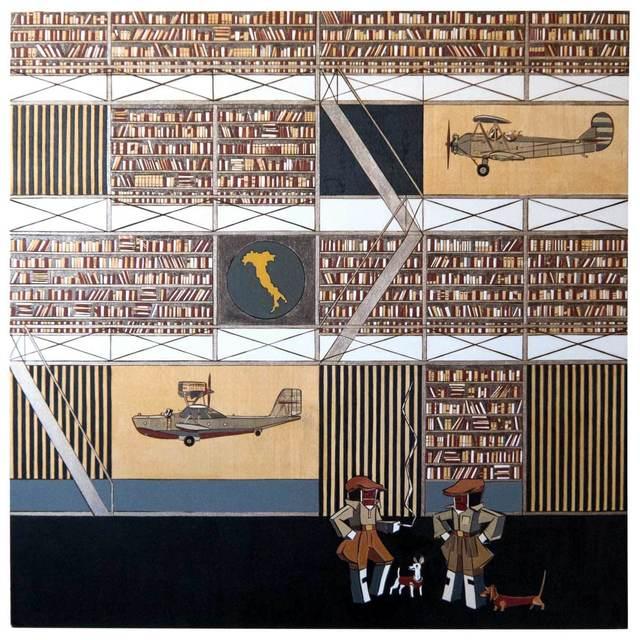 """, '""""Pilots 1"""",' 2012, Krokin Gallery"""