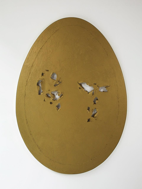 , 'Holy Egg (Gold),' 2013, Patricia Low