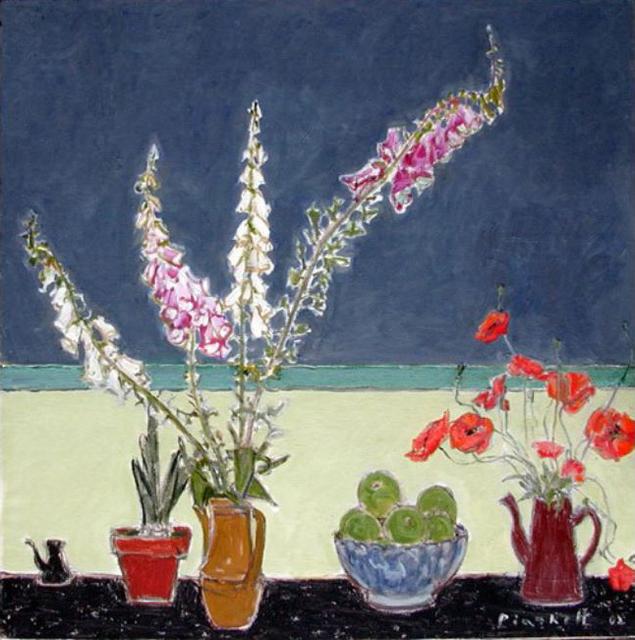 , 'Still Life with Foxgloves & Poppies 2,' , Bau-Xi Gallery