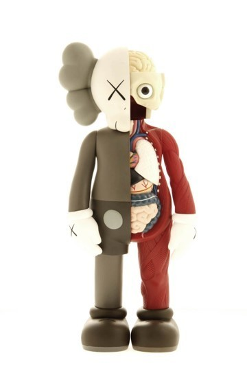 KAWS, 'Five Years Later (Brown) Dissected Companion ', 2006, Lougher Contemporary