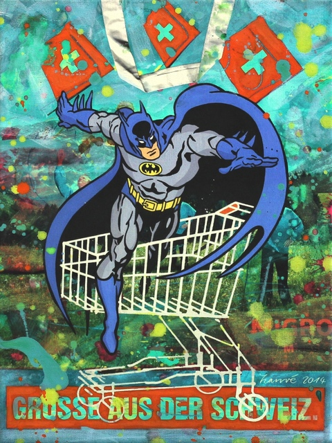 , 'Batman - Greetings from Switzerland,' 2010, Artspace Warehouse