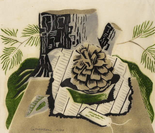 , 'Still Life with Fir Cone,' 1932, Redfern Gallery Ltd.
