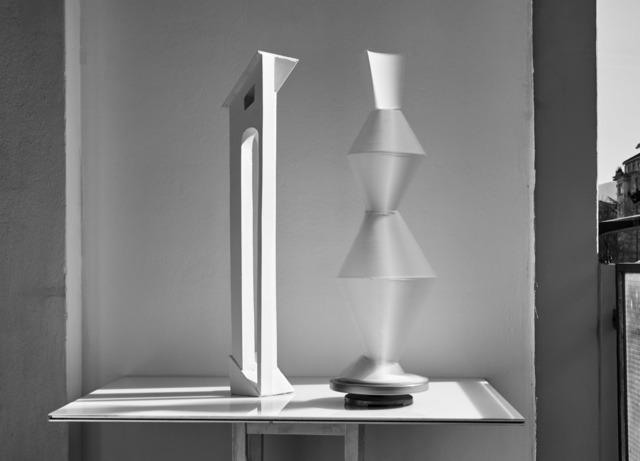 , 'Light Machine : De Chirico with Mooving Brancusi,' 2017, Galerie Laurence Bernard