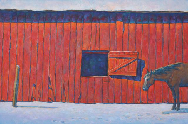 ", '""Wyoming Spring"",' 2018, Maxwell Alexander Gallery"