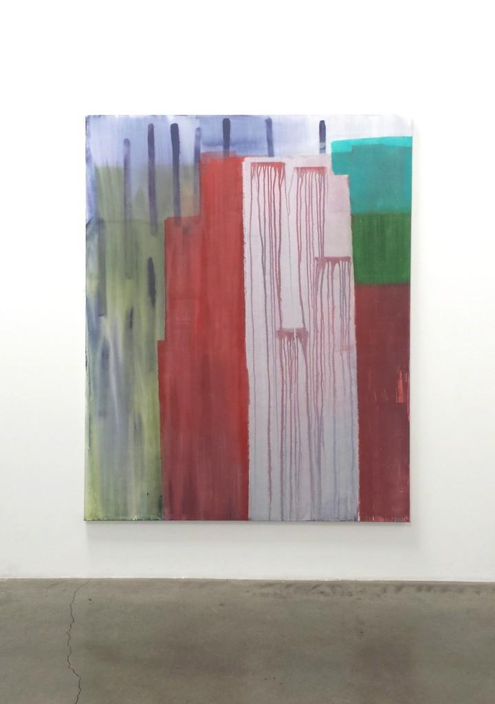 "Tony Beauvy, ""New Paintings,"" Installation ""Untitled LVII"", 2015, Acrylic on canvas, 84"" x 60"""