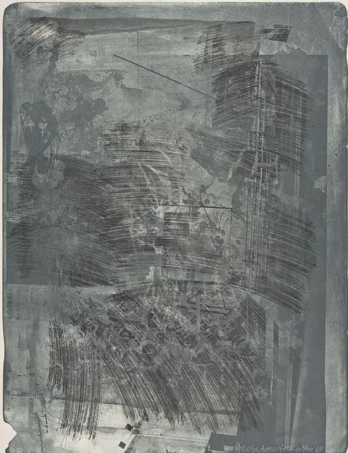 Robert Rauschenberg, 'Post (Stoned Moon)', 1969, San Francisco Museum of Modern Art (SFMOMA)