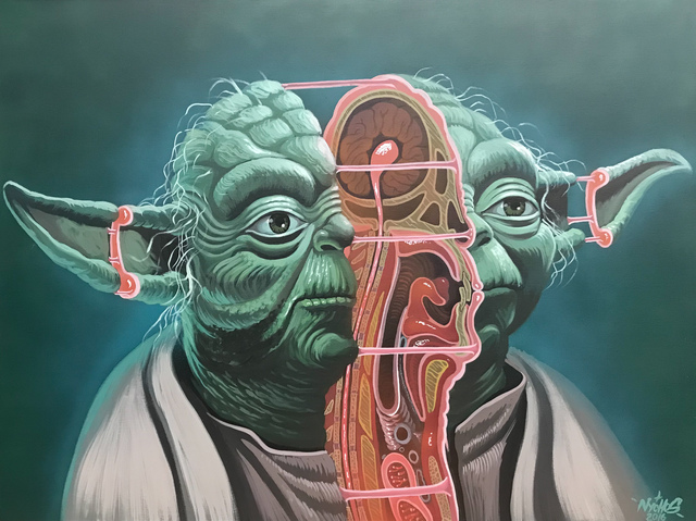 NYCHOS, 'Cross Section of Yoda', 2016, ArtLife Gallery