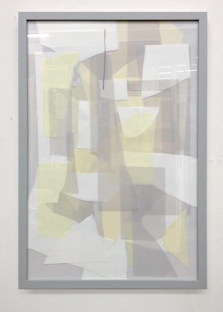 , 'Grauer Rahmen / Graues Bild #2,' 2013, Gestalten