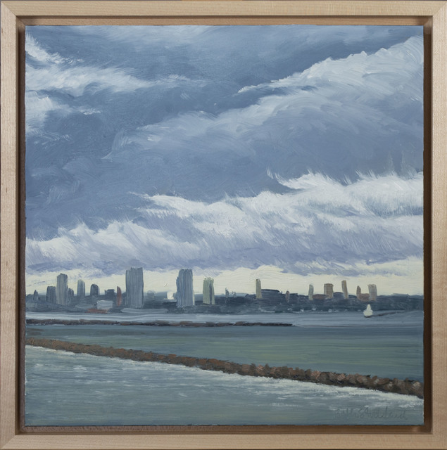 , 'Storm Passing Over Bay View Park,' 2018, David Barnett Gallery