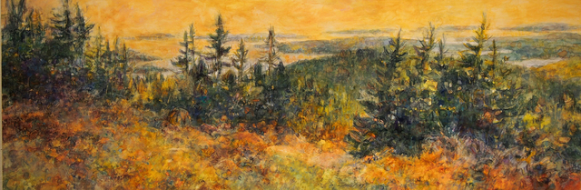 , 'Cadillac View,' 2017, West Branch Gallery