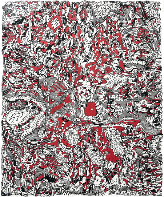 Christophe Ausello, 'Numéro 12 - Nissa', 2018, Galerie Libre Est L'Art