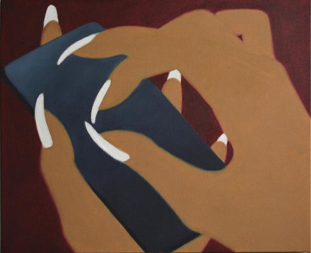 , 'White nails ,' 2019, Galerie Claire Gastaud