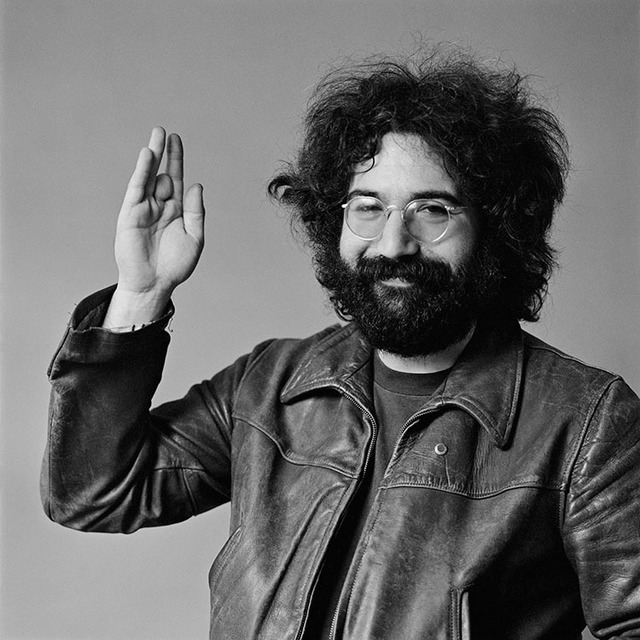 , 'Jerry Garcia waving,' 1969, Mouche Gallery