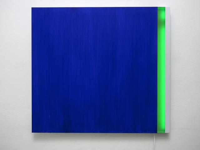 Vittorio Corsini, 'Sul finire dell'occhio celeste', 2011, Galleria Alessandro Bagnai