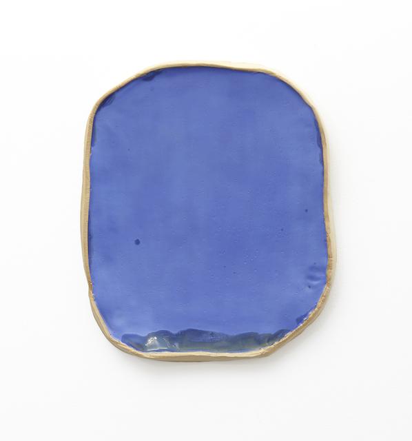 Keiko Narahashi, 'Untitled (Blue Mirror)', 2018, Sculpture, Glazed stoneware, Jason McCoy Gallery