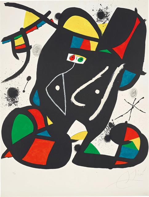 Joan Miró, 'Colpir sense nafrar 3 (To Strike without Sneezing 3)', 1981, Phillips