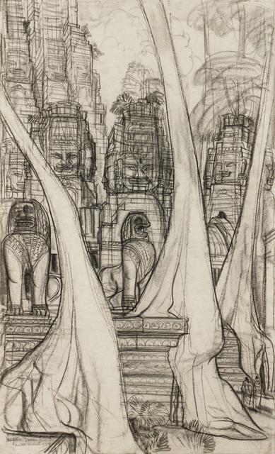 , 'Lions, Angkor Thom,' 1950, Galerie Dumonteil