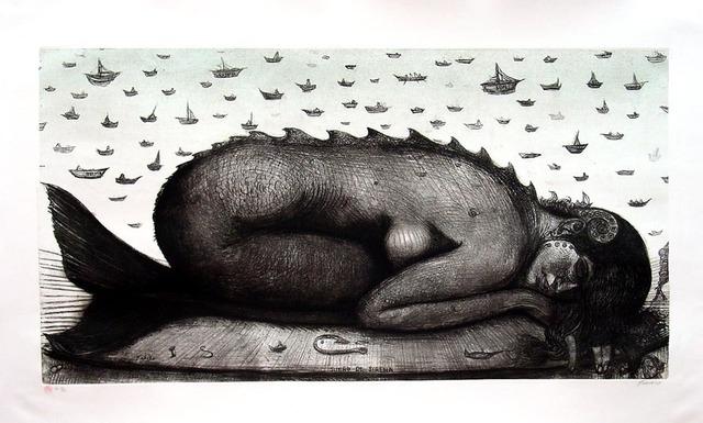 , 'Dream Of Mermaid,' 2001, La Siempre Habana