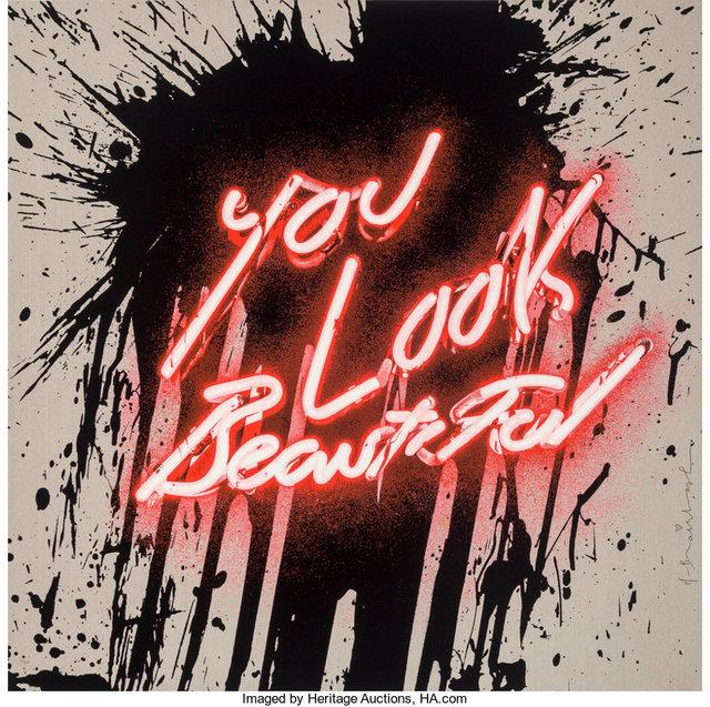 Mr. Brainwash, 'You Look Beautiful', 2018, Heritage Auctions