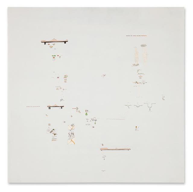 , 'Colpito al cuore da una farfalla,' 1971, Galerie Michael Hasenclever
