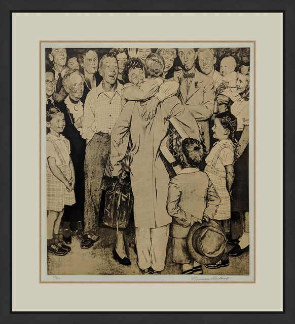 Norman Rockwell, 'THE HOMECOMING', 1971, Gallery Art