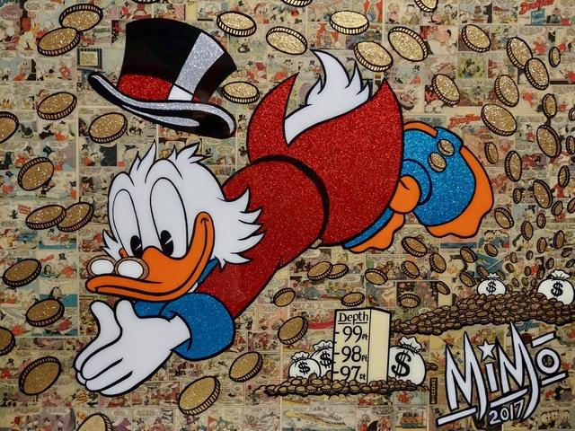 , 'Scrooge Money Dive,' 2017, 212 Arts