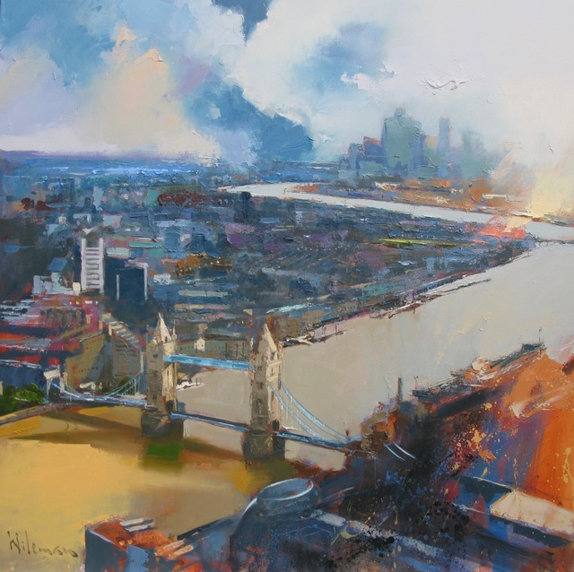 , 'View from the Shard,' 2019, Thompson's Galleries