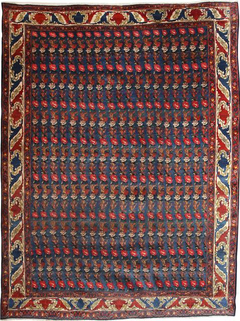 , 'Senneh Lilypad Design,' 1900, Orley Shabahang