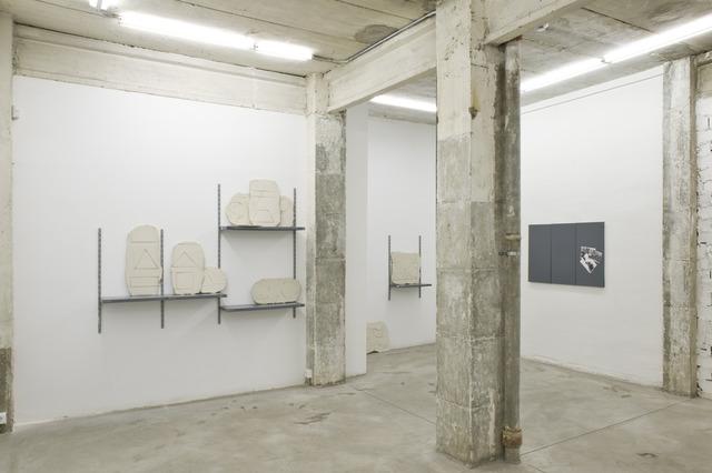 Fran Meana, 'Pensar bien y dibujar mal,installation view at NoguerasBlanchard, Madrid,' 2014, Nogueras Blanchard