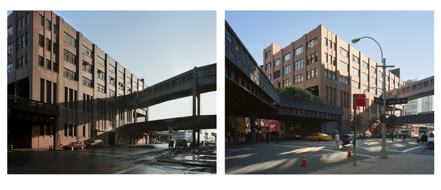 , 'Tenth Avenue and West 16th Street 1985 + 2013,' 1985-2013, Dillon + Lee
