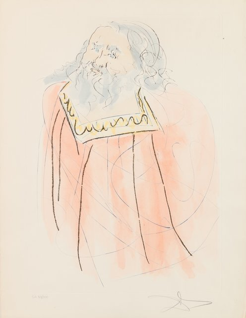 Salvador Dalí, 'Jeremiah, from Our Historical Heritage', 1975, Heritage Auctions