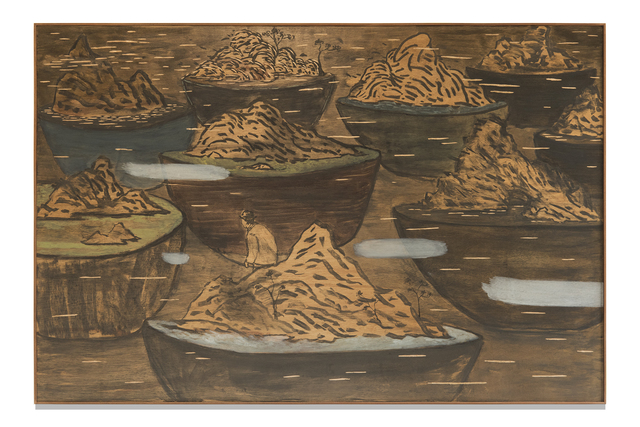 , 'Wandering in potted landscape,' 2019, Blindspot Gallery
