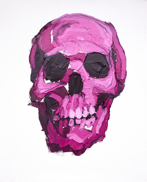 ", '""Skull Study #24"",' 2017, Mugello Gallery"