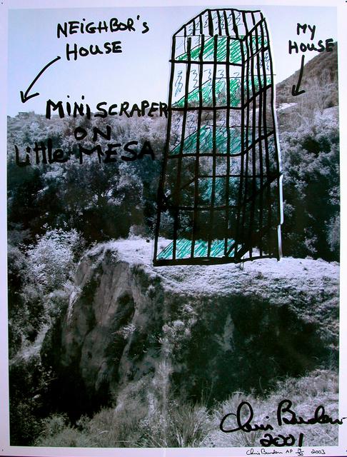 Chris Burden, 'Miniscraper on little MESA', 2001, Galerie Krinzinger