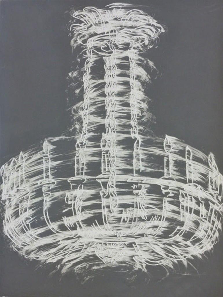 Gary Simmons, 'Chandelier Spin,' 2012, Senior & Shopmaker Gallery